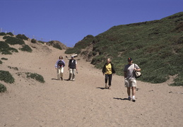 the family at Fort Funston