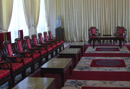 interior of the reunification palace
