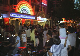 night scenes in Saigon