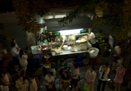 street food and bus lines