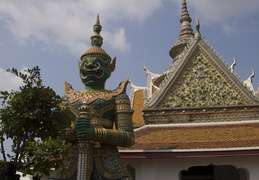 Wat Arun guardians