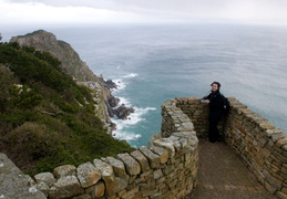 Meghan at the Cape of Good Hope
