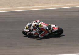 MotoGP racing at Laguna Seca